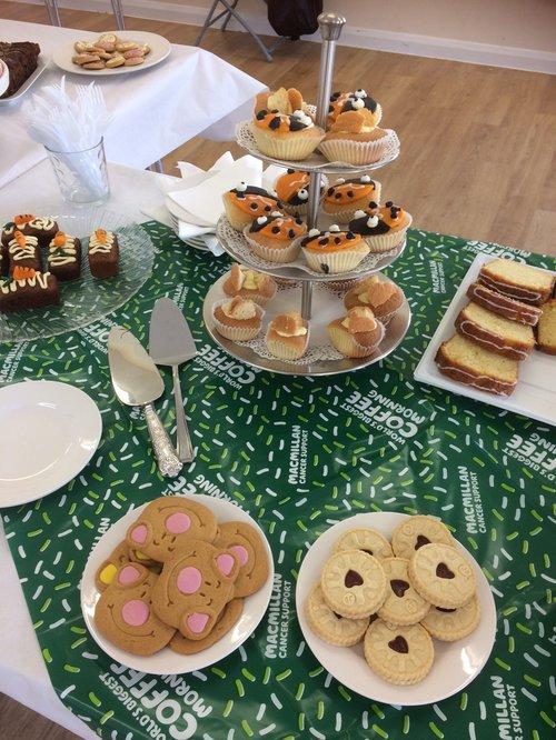 Macmillan Cakes