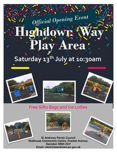 Highdown Way Play Area