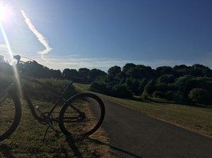 St Andrews Ridge with bike